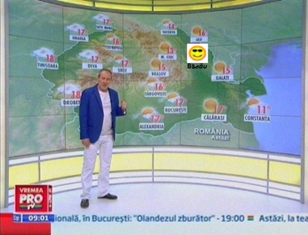 Vremea in judetul Bacau. Prognoza meteo judet Bacau  |Meteo Bacau
