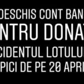 cont fals donatii