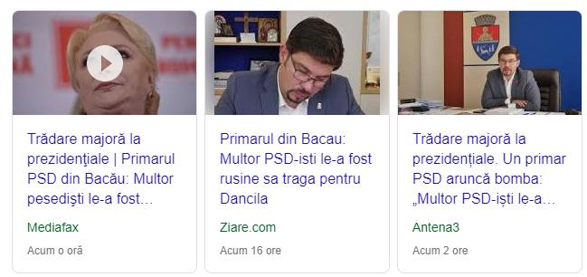 Captură Google